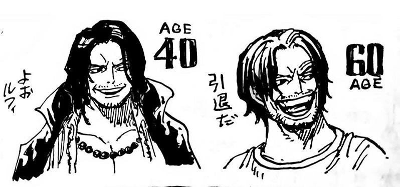 Oda Reveals How Ace Luffy Would Look Like In The Future Anime Scoop