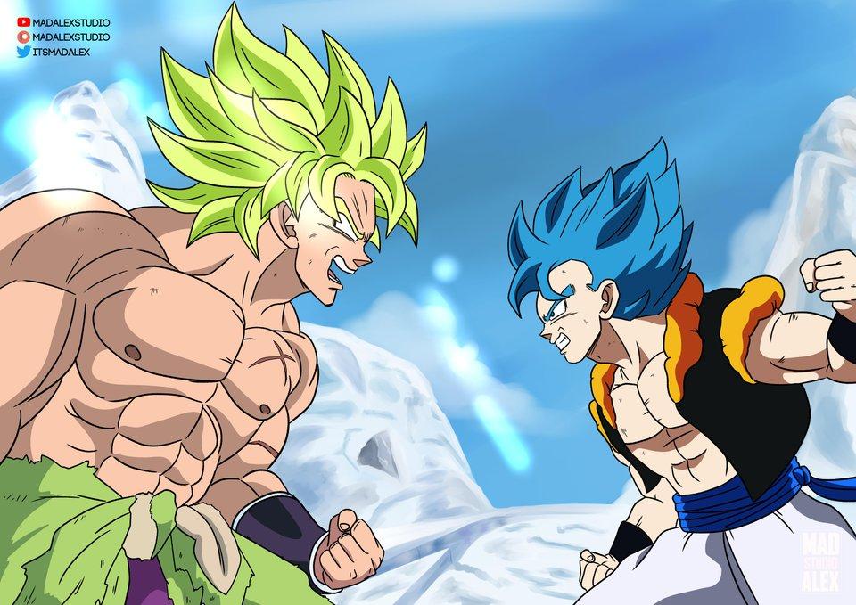 Dragon Ball Super Broly Shares New Images Of Young Goku Vegeta