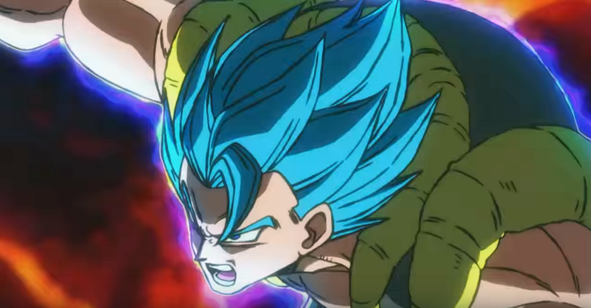 Gogeta vs broly full fight without the shenlong scene japanese dub - 2 9