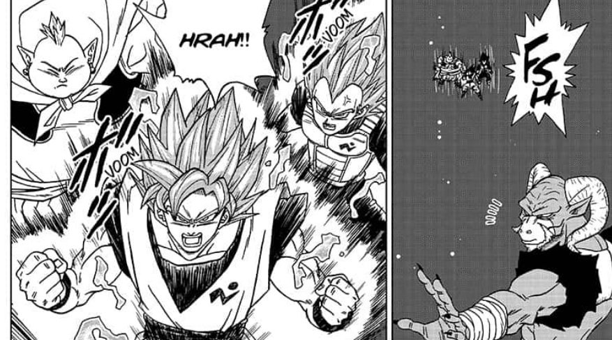 Dragon Ball Super Chapter 49 English The Outer Space Battle